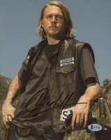 "Charlie Hunnam Signed ""Sons of Anarchy"" 8x10 Photo (Beckett COA) at PristineAuction.com"