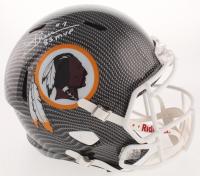 "Joe Theismann Signed Washington Redskins Full-Size Hydro-Dipped Speed Helmet Inscribed ""83 MVP"" (Beckett COA) at PristineAuction.com"