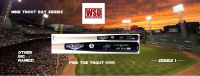 WSD Baseball Bat Mystery Box Series 1 - (Find the Trout!) at PristineAuction.com