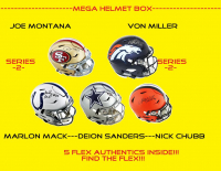 Mega Full-Size Helmet Mystery Box - Autographed Helmet Series 3 (Find the Flex!) at PristineAuction.com