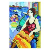 "Patricia Govezensky Signed ""Last Forever"" 15x22 Original Watercolor on Paper at PristineAuction.com"