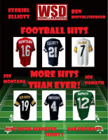 WSD Football Hits Jersey Mystery Box Series - 1 at PristineAuction.com