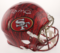 Joe Montana Signed San Francisco 49ers Full-Size Authentic On-Field Hydro-Dipped Speed Helmet (JSA COA) at PristineAuction.com
