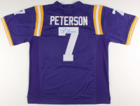 "Patrick Peterson Signed LSU Tigers Jersey Inscribed ""2x All American"" (JSA COA) at PristineAuction.com"