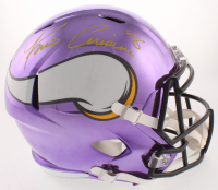Kirk Cousins Signed Minnesota Vikings Full-Size Chrome Speed Helmet (Fanatics Hologram) at PristineAuction.com