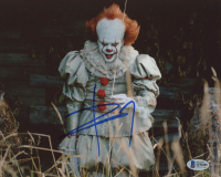 "Bill Skarsgard Signed ""It"" 8x10 Photo (Beckett COA) at PristineAuction.com"