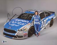 Danica Patrick Signed NASCAR 8x10 Photo (Beckett COA) at PristineAuction.com
