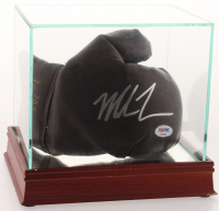 Mike Tyson Signed Vintage Everlast Boxing Glove with Display Case (PSA COA) at PristineAuction.com