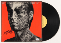 "Keith Richards Signed The Rolling Stones ""Tattoo You"" Vinyl Record Album (PSA LOA) at PristineAuction.com"