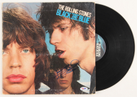 "Keith Richards Signed The Rolling Stones ""Black and Blue"" Vinyl Record Album (PSA LOA) at PristineAuction.com"