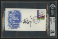"Tommy Chong Signed United Nations ""My Dream For Peace"" 2004 FDC Envelope (BGS Encapsulated) at PristineAuction.com"
