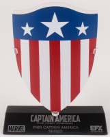 """Captain America: The First Avenger"" Shield High Quality Metal Movie Prop Replica at PristineAuction.com"