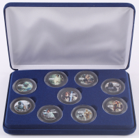 Star Wars LE Set of (9) Colorized JFK Half Dollars at PristineAuction.com