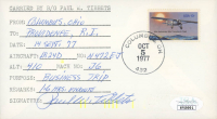 Paul Tibbets Signed Cachet Envelope (JSA COA) at PristineAuction.com