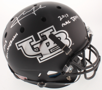 "Khalil Mack Signed University of Buffalo Bulls Full-Size Helmet Inscribed ""2013 All-American"" & ""2013 MAC DPOY"" (JSA COA) at PristineAuction.com"