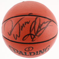 """Dennis Rodman Signed Game Ball Series Basketball Inscribed """"Worm"""" (Beckett COA) at PristineAuction.com"""