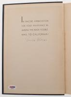 "Brick Morse Signed 1937 ""California Football History"" Hard-Cover Book (PSA LOA) at PristineAuction.com"