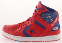 """Julius """"Dr. J"""" Erving Signed Vintage Converse Basketball Shoe (PSA COA) at PristineAuction.com"""