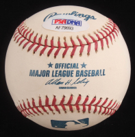 Reggie Jackson Signed OML Baseball with Replica World Series Ring with Display Case (PSA COA) at PristineAuction.com
