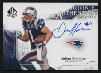 2009 SP Authentic #305 Julian Edelman Autograph RC #192/999 at PristineAuction.com