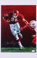 "Steve Owens Signed Oklahoma Sooners 11x17 Print Inscribed ""'69"" (JSA COA) at PristineAuction.com"
