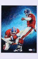 Jason Elam Signed Denver Broncos 11x17 Print (JSA COA) at PristineAuction.com
