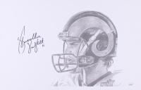 Bradlee Van Pelt Signed Colorado State Rams 11x17 Print (JSA COA) at PristineAuction.com