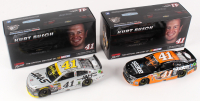 Lot of (2) Kurt Busch Signed LE 1:24 Scale Die-Cast Cars with #41 Haas Automation 500th Start 2014 SS & #41 State Water Heaters 2014 SS (JSA COA) at PristineAuction.com