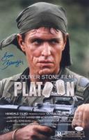 "Tom Berenger Signed ""Platoon"" 11x17 Photo (JSA COA) at PristineAuction.com"