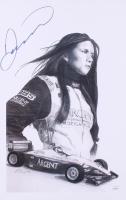 Danica Patrick Signed 11x17 Print (JSA COA) at PristineAuction.com