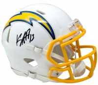 Keenan Allen Signed Los Angeles Chargers Mini Speed Helmet (Beckett COA) at PristineAuction.com