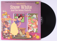 "Walt Disney's ""Snow White and the Seven Dwarves"" Vinyl Record Album at PristineAuction.com"
