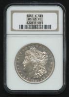1881-S $1 Morgan Silver Dollar (NGC MS 65 PL) at PristineAuction.com