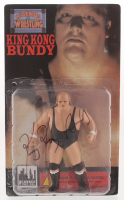 King Kong Bundy Signed WWF Wrestling Figurine (PSA COA) at PristineAuction.com