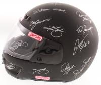 Full-Size Racing Helmet Signed by (30) With Dale Earnhardt Jr., Richard Petty, Darrell Waltrip, Jimmie Johnson, Jeff Gordon, Tony Stewart (JSA ALOA) at PristineAuction.com