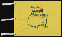 Doug Ford Signed 2009 Masters Tournament Pin Flag (JSA COA) at PristineAuction.com
