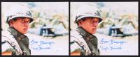 "Lot of (2) Tom Berenger Signed ""Platoon"" 8x10 Photos Inscribed ""'Ssgt. Barnes'"" (JSA COA) at PristineAuction.com"