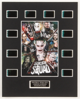 """""""Suicide Squad"""" LE 8x10 Custom Matted Original Film / Movie Cell Display at PristineAuction.com"""