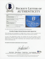 Don Drysdale, Duke Snider, & Pee Wee Reese Signed Brooklyn Dodgers Fitted Baseball Hat (Becket LOA) at PristineAuction.com