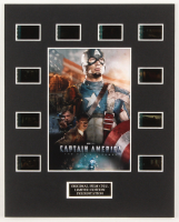 """Captain America: The First Avenger"" LE 8x10 Custom Matted Original Film / Movie Cell Display at PristineAuction.com"