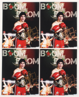 "Lot of (4) Ray ""Boom Boom"" Mancini Signed 8x10 Photos (JSA COA) at PristineAuction.com"