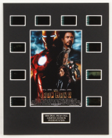 """""""Iron Man 2"""" LE 8x10 Custom Matted Original Film / Movie Cell Display at PristineAuction.com"""