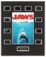 """Jaws"" LE 8x10 Custom Matted Original Film / Movie Cell Display at PristineAuction.com"
