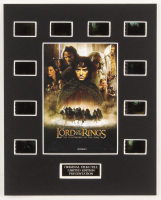 """The Lord of the Rings: The Fellowship of the Ring"" LE 8x10 Custom Matted Original Film / Movie Cell Display at PristineAuction.com"