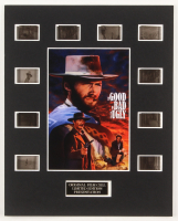 """""""The Good, the Bad and the Ugly"""" LE 8x10 Custom Matted Original Film / Movie Cell Display at PristineAuction.com"""