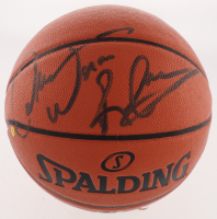"Dennis Rodman Signed NBA Game Ball Series Basketball Inscribed ""Worm"" (Beckett COA) at PristineAuction.com"
