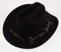 "Val Kilmer Signed ""Tombstone"" Cowboy Hat Inscribed ""I'm Your Huckleberry"" (Radtke COA) at PristineAuction.com"