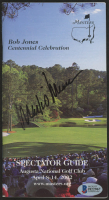 Mark O'Meara Signed Masters Spectator Guide (Beckett COA) at PristineAuction.com