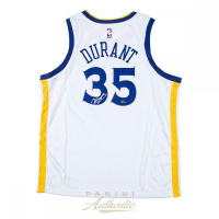 Kevin Durant Signed Golden State Warriors Jersey (Panini COA) at PristineAuction.com