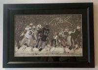 Tom Brady Signed New England Patriots 23x28 Custom Framed Diebond Plexiglass Display (Steiner COA) at PristineAuction.com